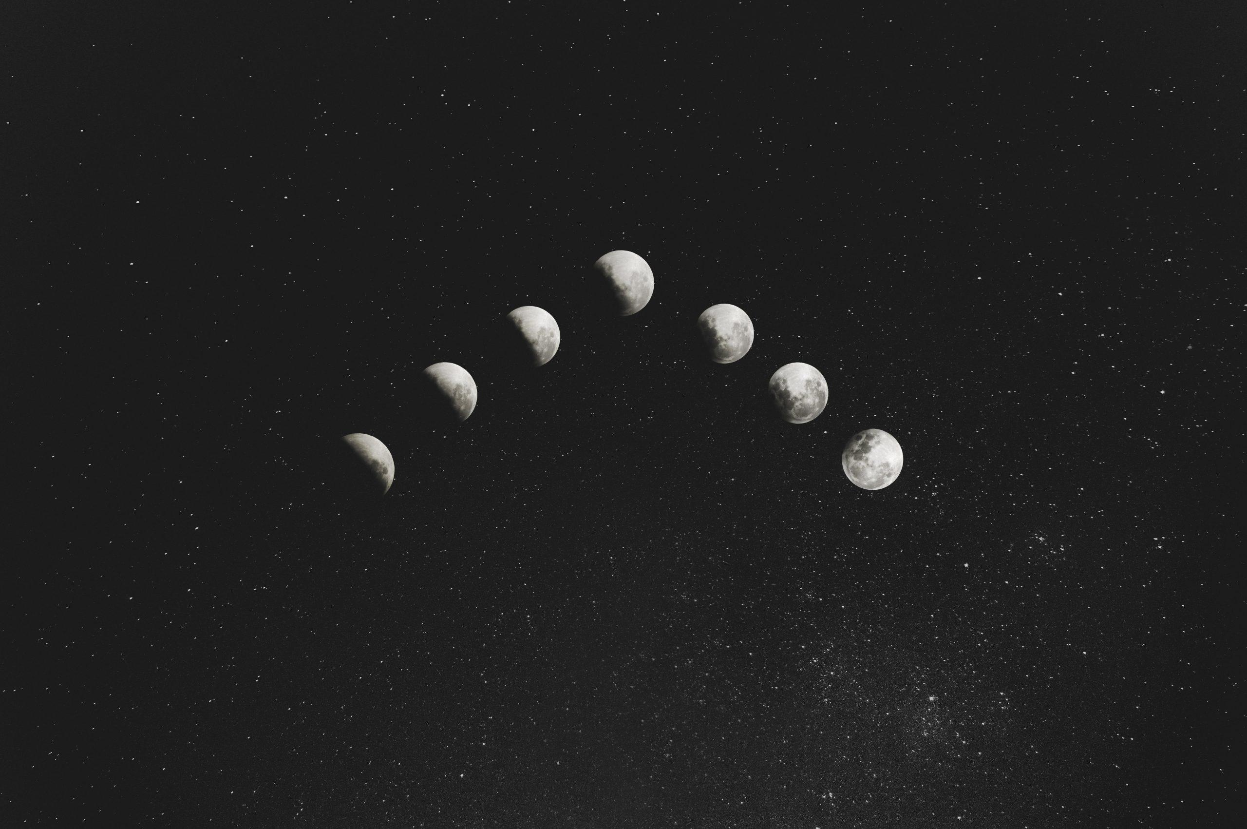 Volle Maan Maan Eclips