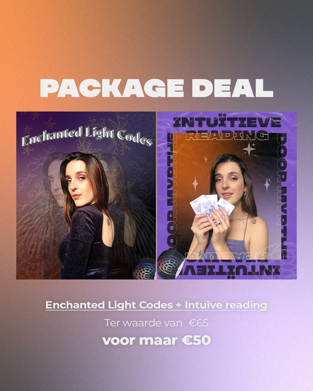 PACKAGE DEAL: Enchanted Lights Codes + Intuïtieve Reading