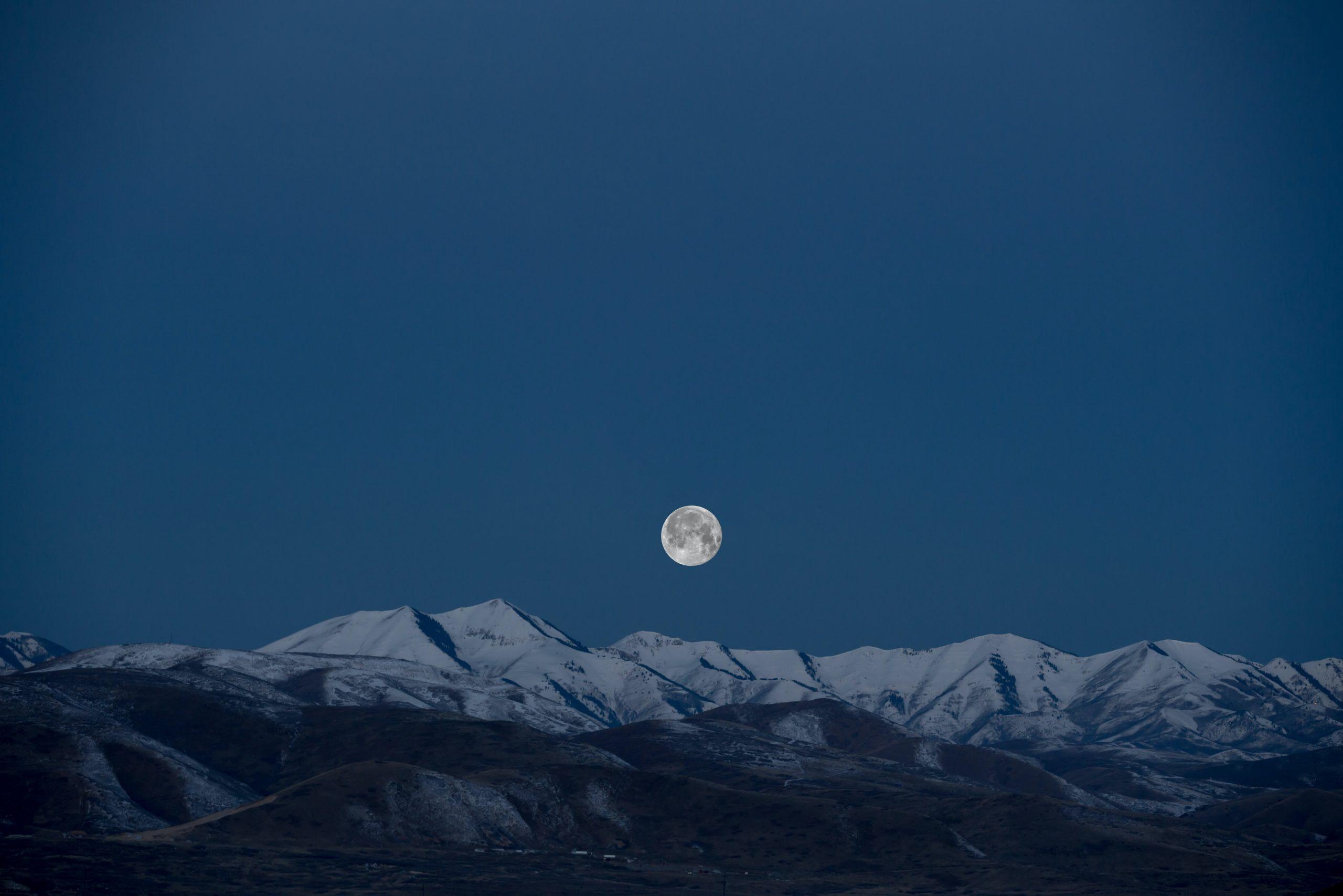 Volle Maan In Leeuw - Januari